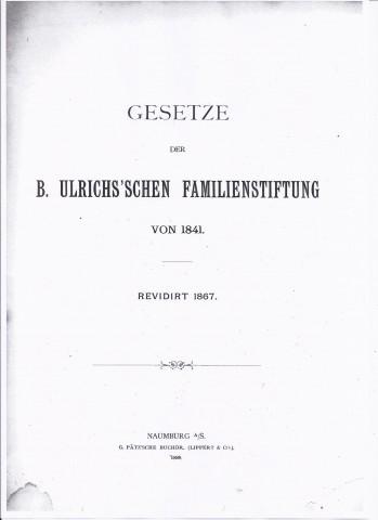 Stamtavle slekten Ulrichs