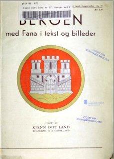 Bergen med Fana i tekst og billeder
