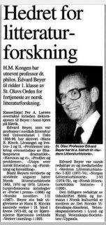 Professor i norsk litteratur...